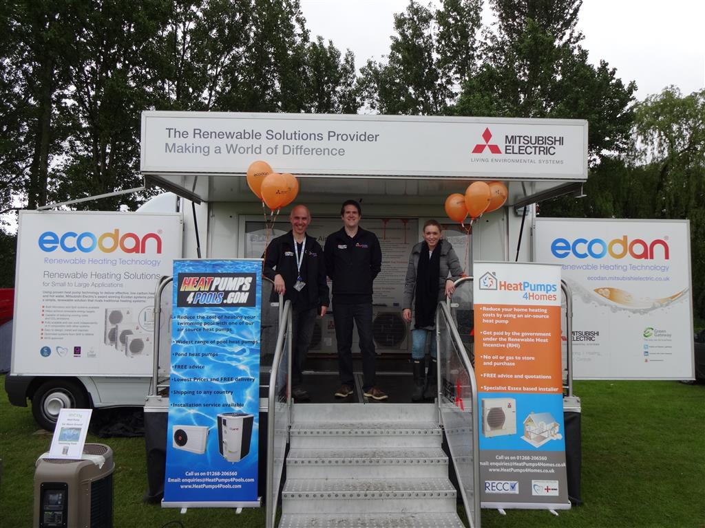 heatpumps4homes at the essex country show